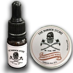 Pack Aceite + Cera Barber Store